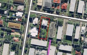 Aerial - oliver street